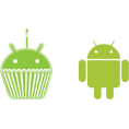 Lady Di   - Android Logo - Illustrations