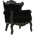 Denise  - Black Armchair - Furniture