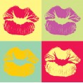 Gothy - Pop art kiss - Illustrations