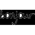 Mo. Artoholic - bonjour - Texts