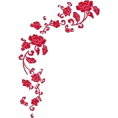 Katarina grbic - Flower Corner Frame - Frames