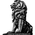 webmaster(s) @trendMe - Lion Statue - Illustrations