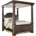 webmaster(s) @trendMe - Regal 4-Poster Bed - Furniture
