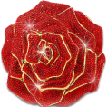webmaster(s) @trendMe - Ruby Jeweled Rose - Illustrations