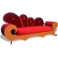 webmaster(s) @trendMe - Vibrant Hues Couch - Illustrations