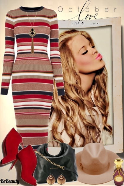 nr 340 - Striped Dress