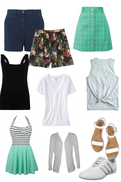 summer travel wardrobe