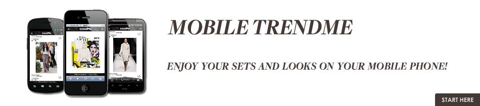 trendMe Mobile Web