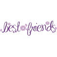Lady Di ♕ - Best Friends - イラスト用文字