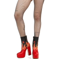 vespagirl - Doll Parts Legs Flame Boots - People