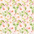 Mees Malanaphy - Pink and green flowers - Background