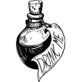 sandra  - Potions bottle vector - Illustrations