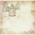 Mees Malanaphy - Vintage Birdcage Background - Фоны