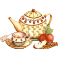 artsets80 - Apple Teapot - Items