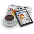 vespagirl - coffee newspaper iPad - Items