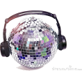 Elena Ekkah - Disco Ball With Headphones - Items