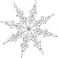 carola-corana - Snowflake - Illustrations