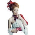 vespagirl - red hair upper body doll parts - Ljudi (osobe)