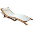 webmaster(s) @trendMe - Teak Canvas Lounger - Illustrations